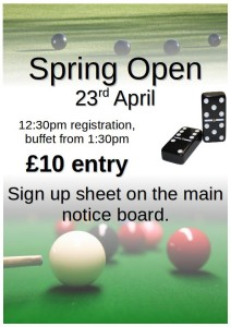 spring open poster
