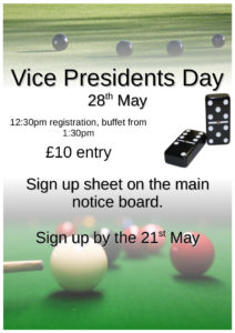 dc vice presidents day poster