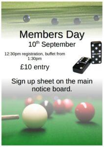 dc members day poster